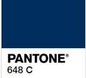pantone blue 648c