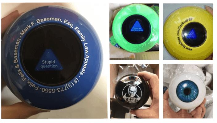 magic 8 ball custom answers