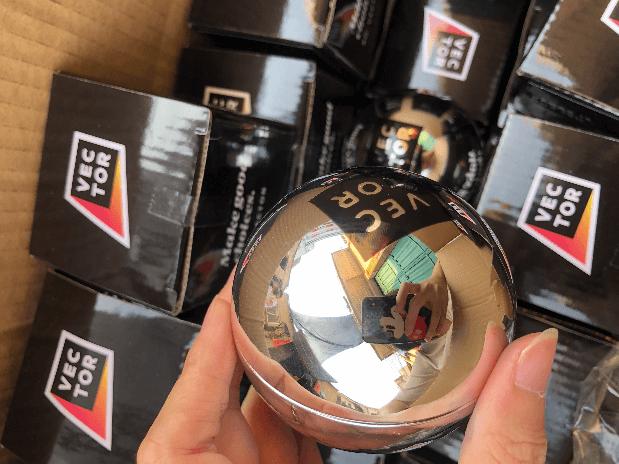 silver mirror magic 8 ball