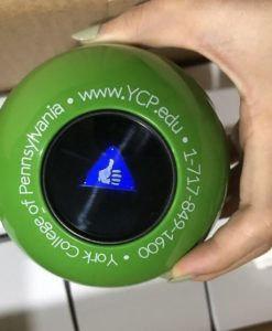 green magic 8 ball
